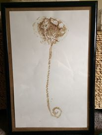 thank you Lydia for sharing your placenta print with us!