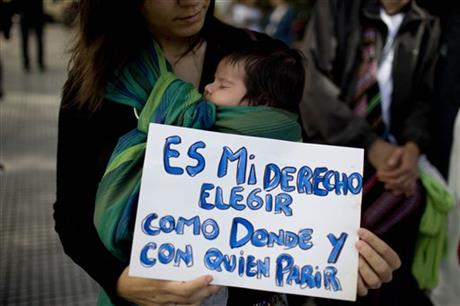 argentinian midwives protest 4